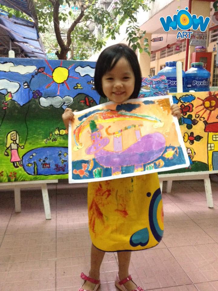 Lớp vẽ sáng tạo Wow Art