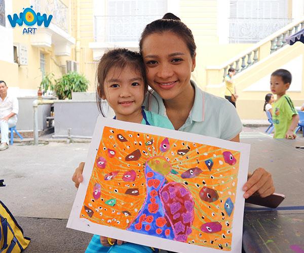 Vẽ cùng con