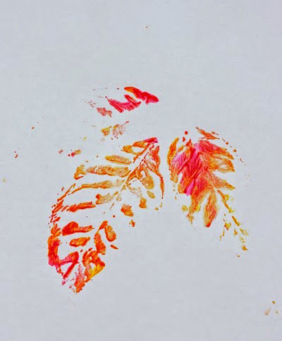 Painting with Leaves (2)